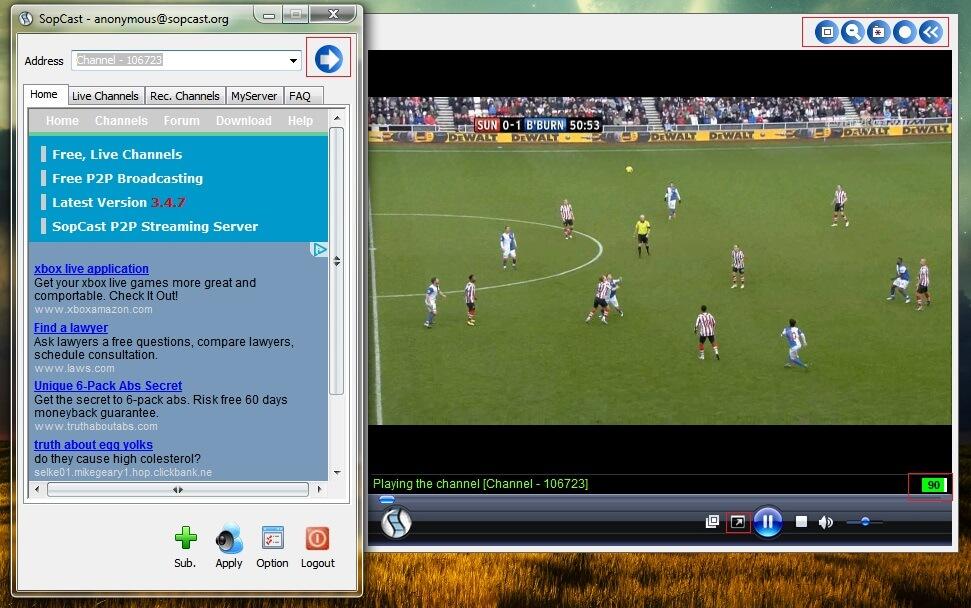 Cách lấy link Sopcast chuẩn cùng sự thăng hoa khi xem bóng đá online tại Mì Tôm TV