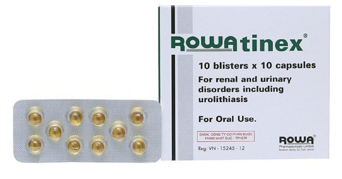 Rowatinex là thuốc gì? Tác dụng và liều dùng của thuốc